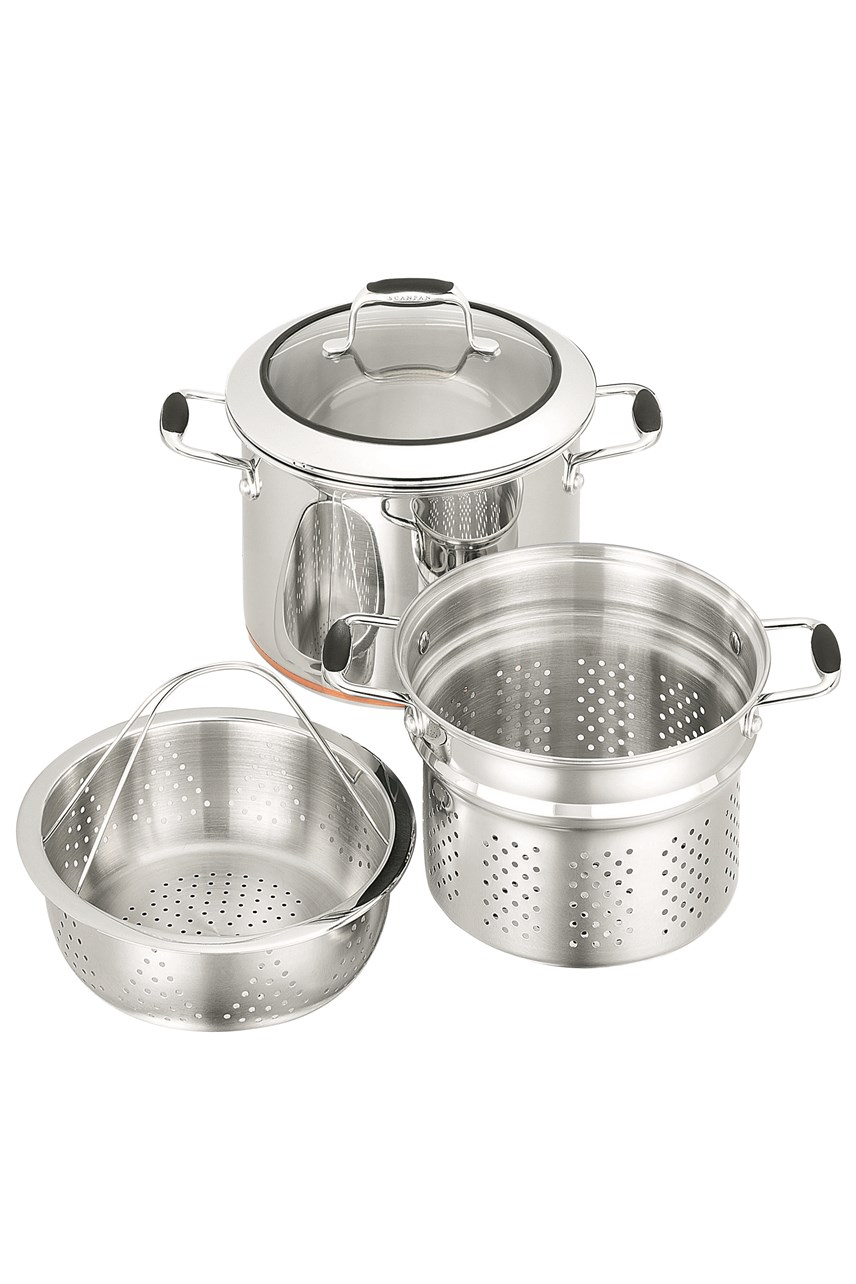 Coppernox 3-Piece Multi Pot Set