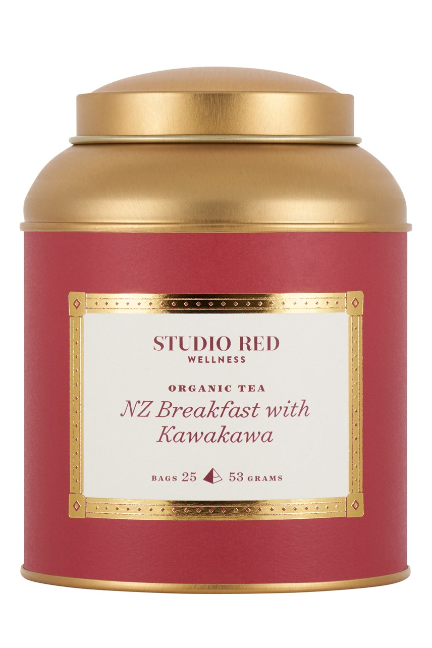 NZ Breakfast With Kawakawa Tin - 25 Tea Bags