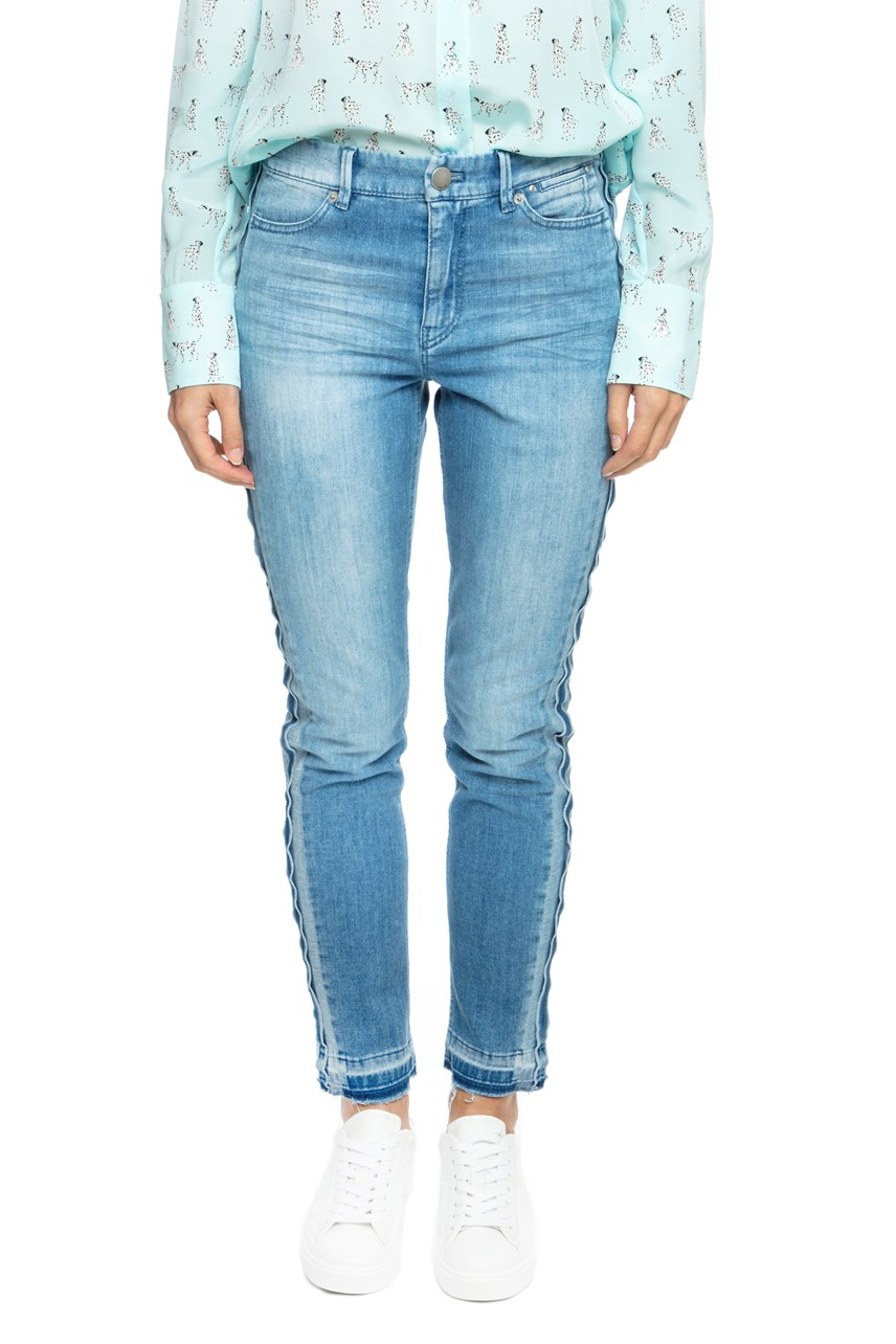 Skinny Jean With Side Stripe