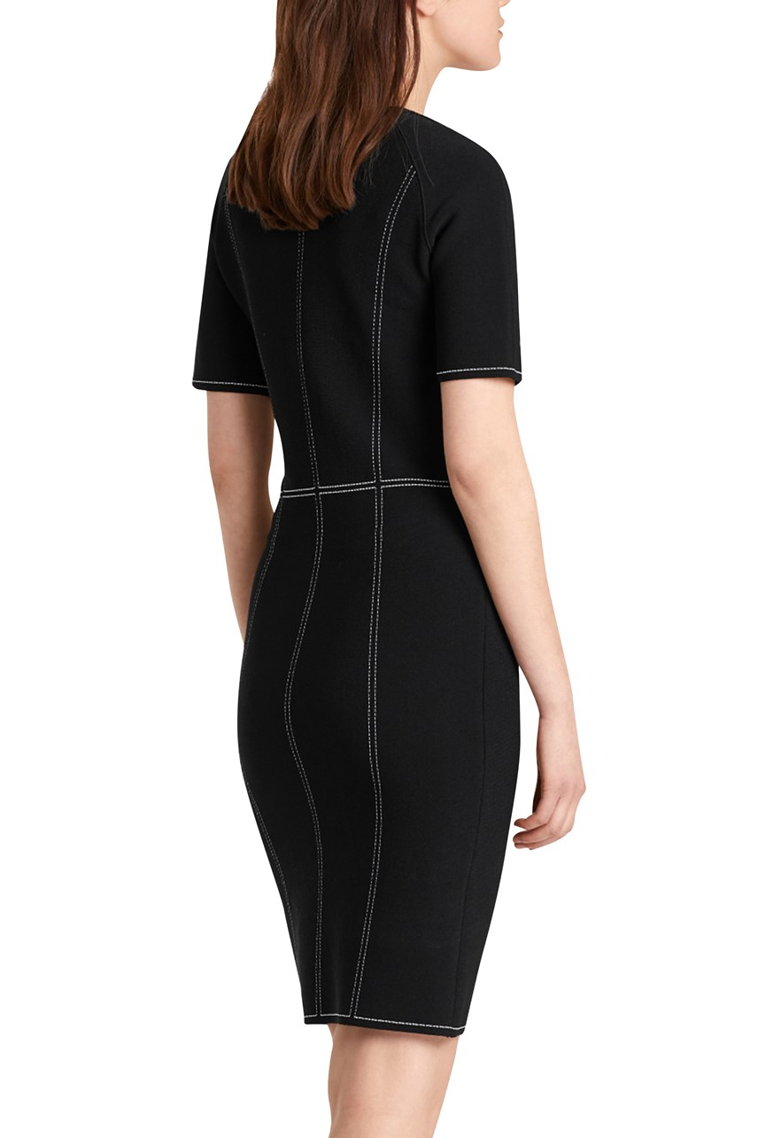 Contrast Seam Dress
