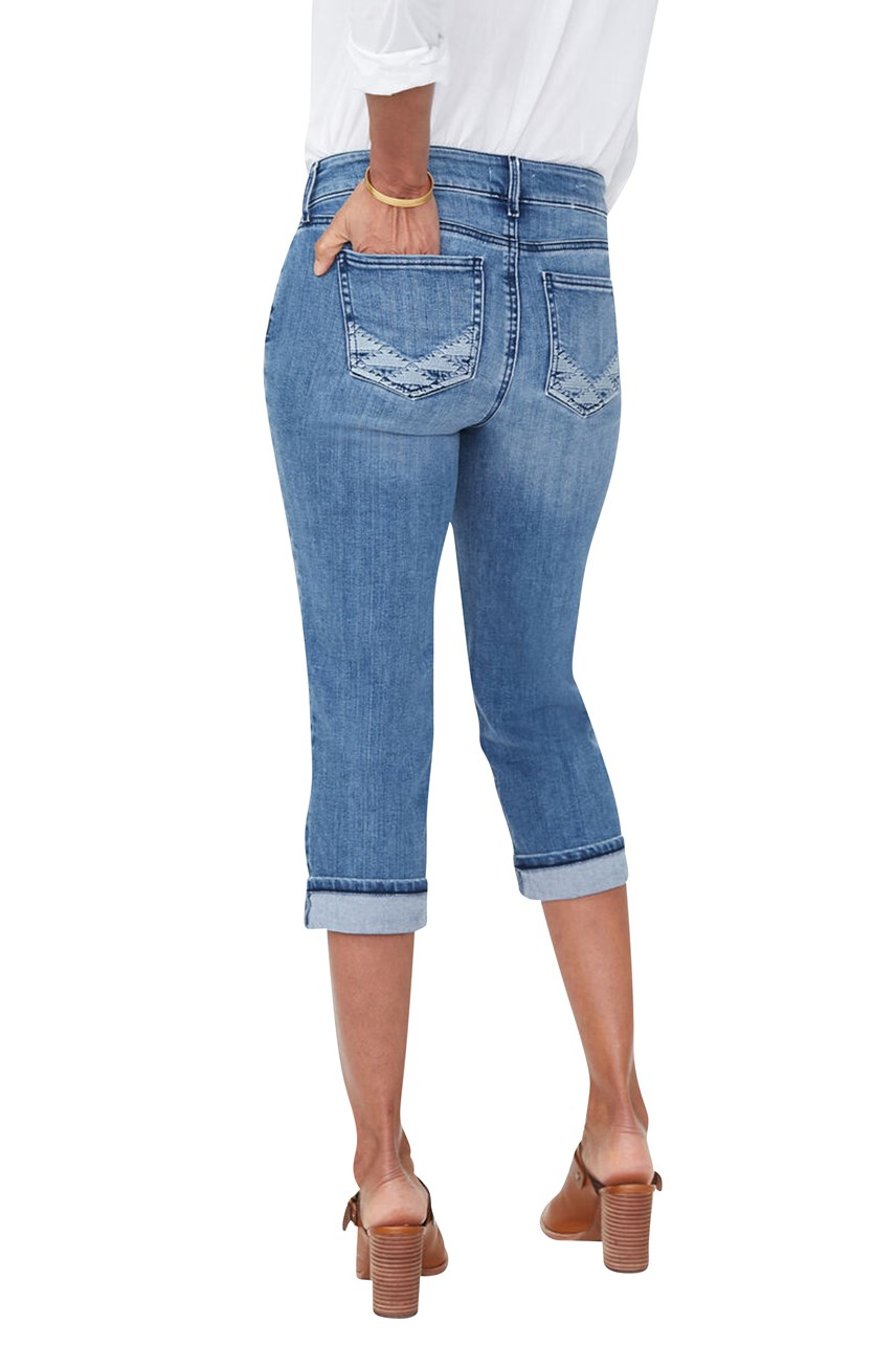 Marilyn Straight Crop Jeans