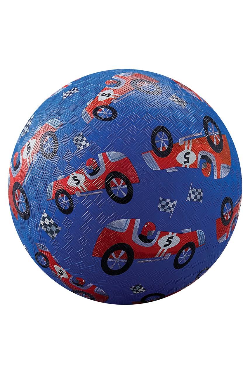 Race Cars Playground Ball 7 Inch