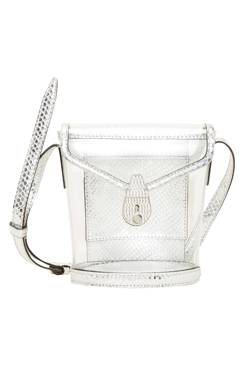 Lock Micro Bucket Bag