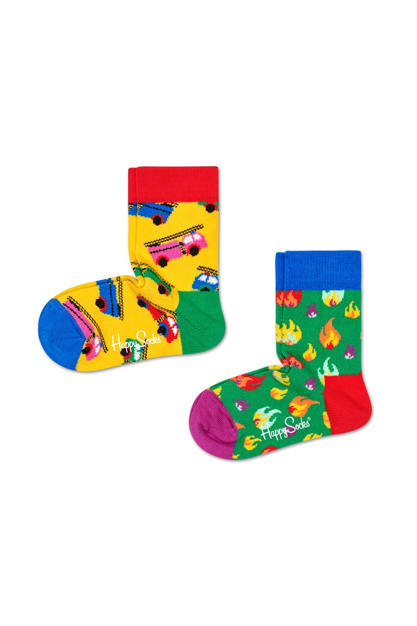 Kids On Fire Socks - 2 Pack