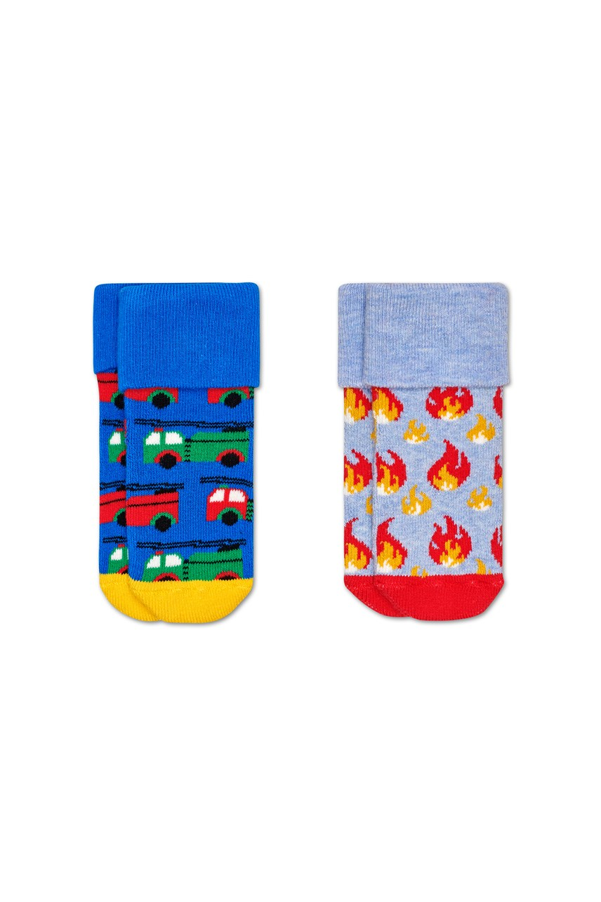 Kids On Fire Terry Socks - 2 Pack