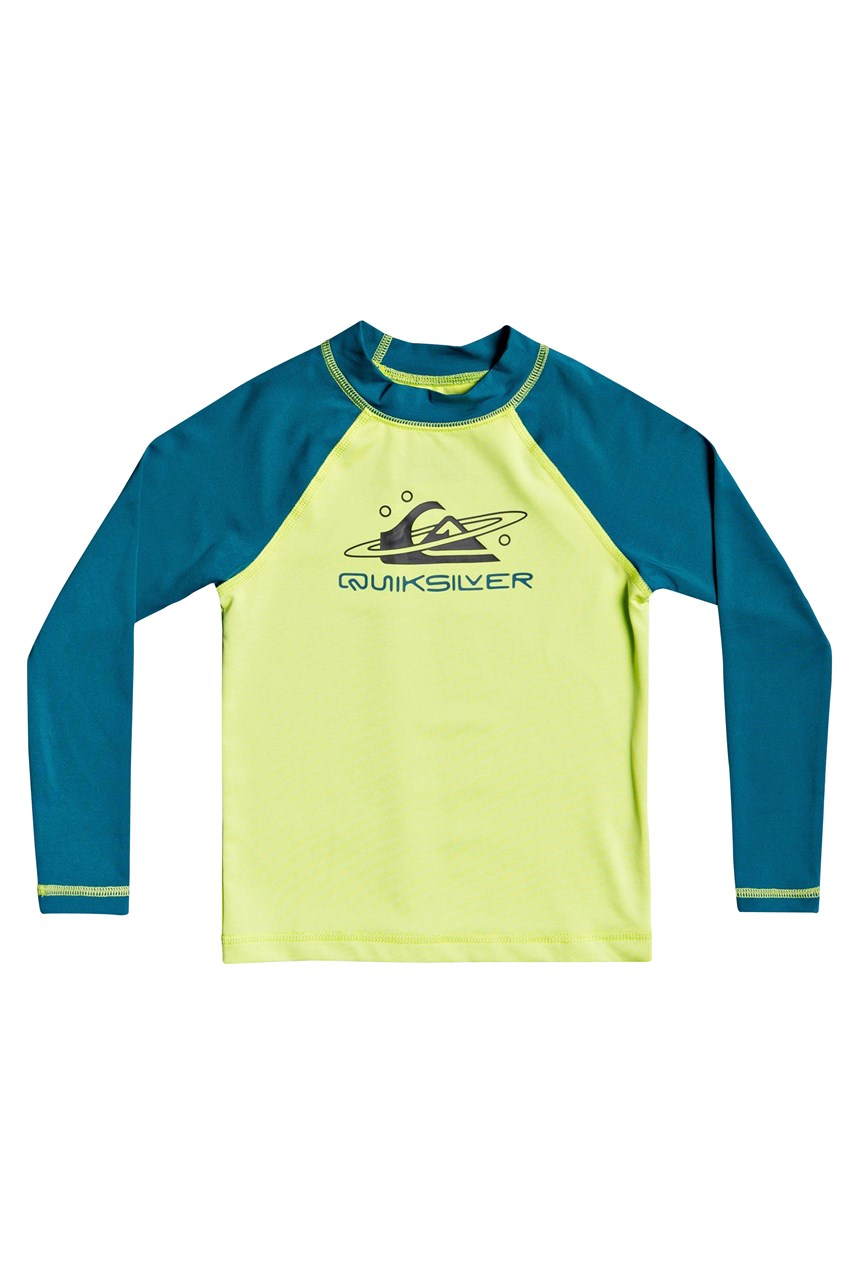 Tropical Bubble Long Sleeve Rashguard