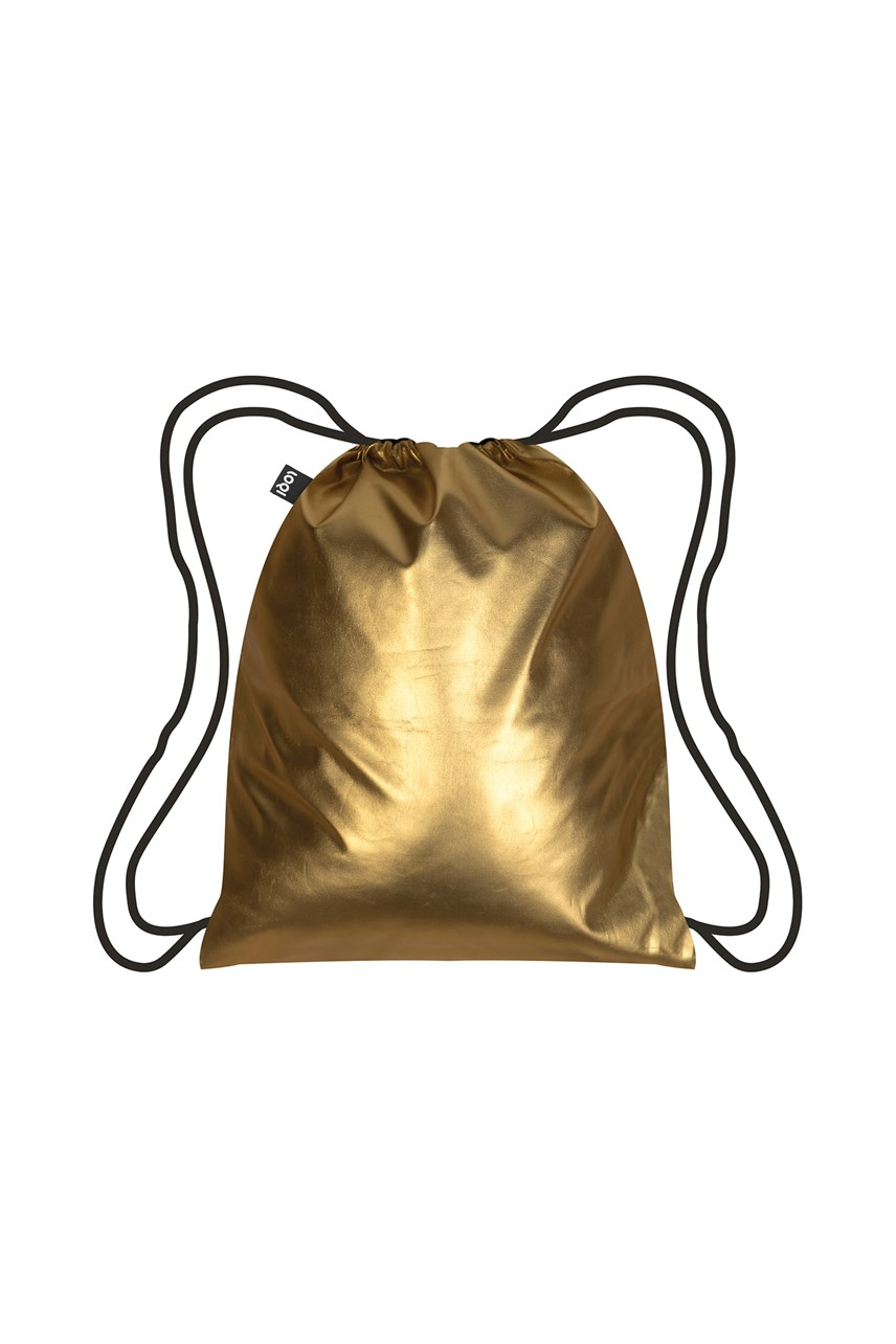 Matt Collection Metallic Gold Backpack