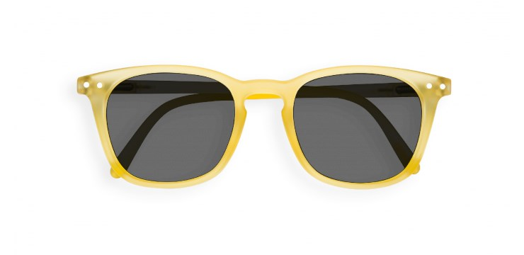 Sun Junior #E Yellow Chrome Sunglasses