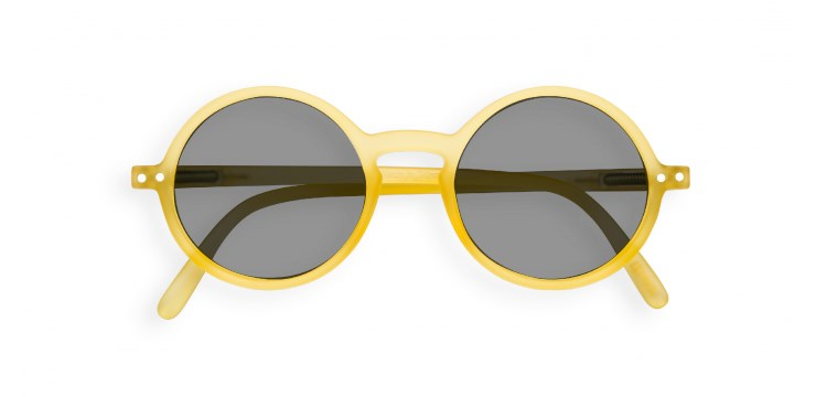 Sun Junior #G Yellow Chrome Sunglasses