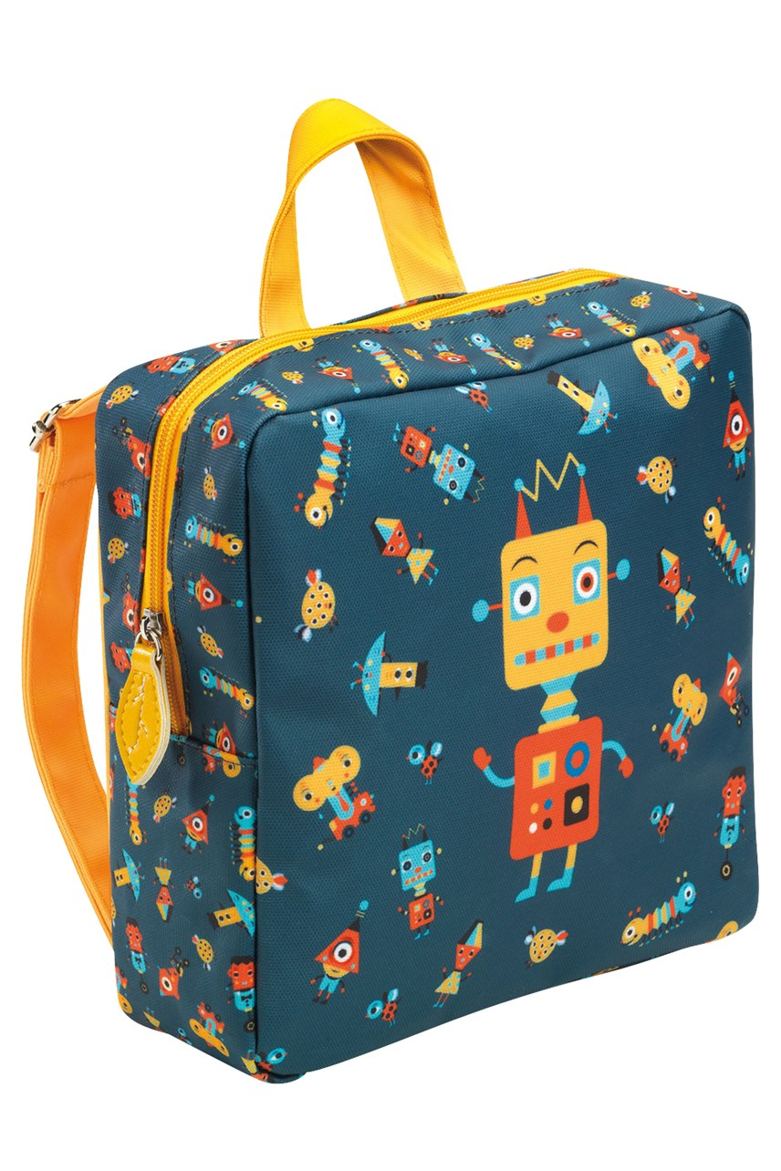 Robots School Bag