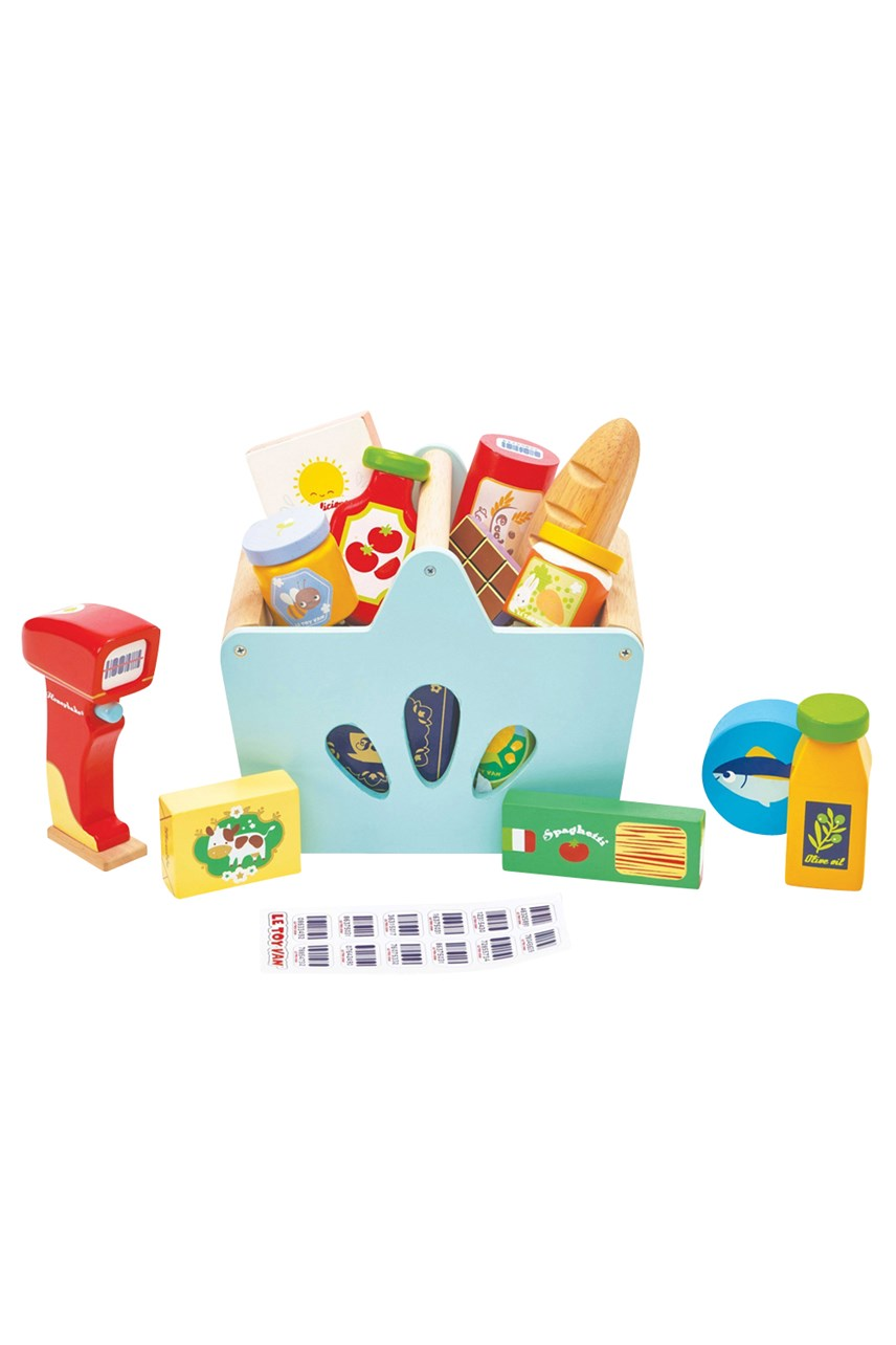 Groceries Set And Scanner