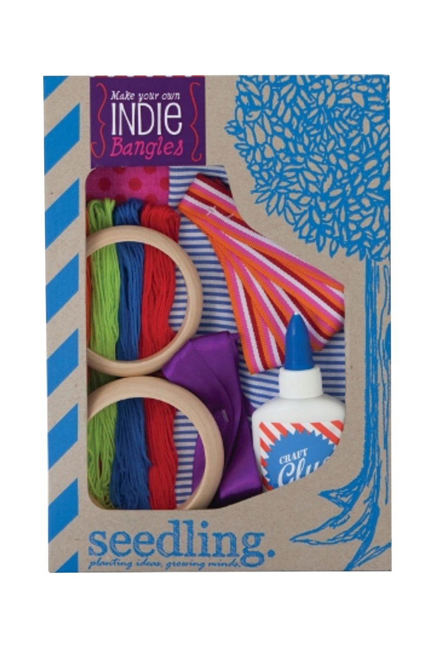 'Make Your Own Indie Bangles' Craft Kit