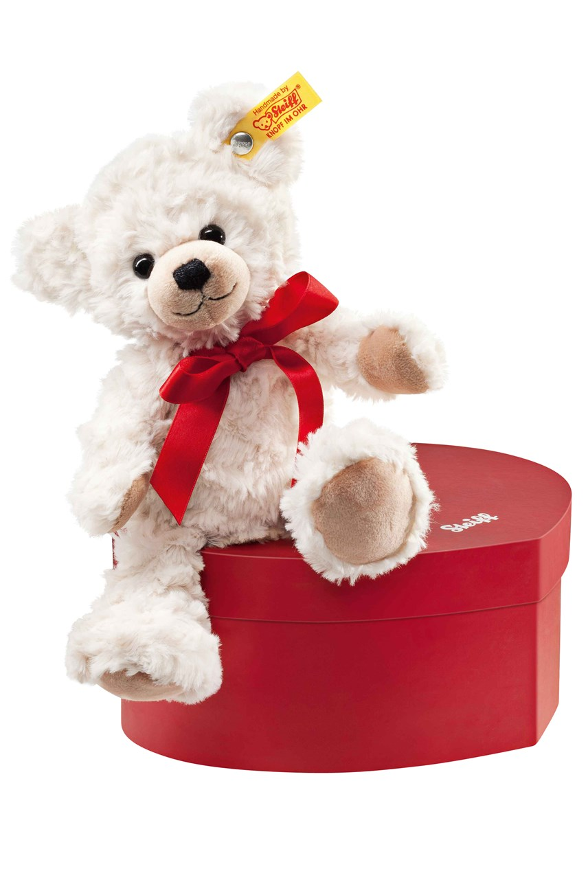 Sweetheart Teddy Bear In Heart Box