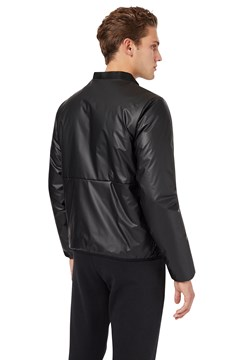 Coated Fabric Jacket - 1200 black