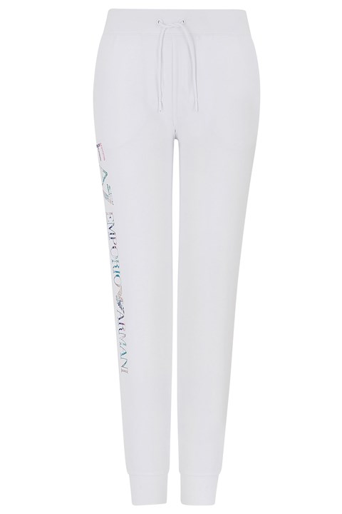 Multicolour Logo Sweatpants - 1100 white
