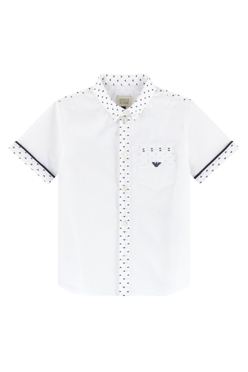 Armani Junior Short Sleeve Shirt