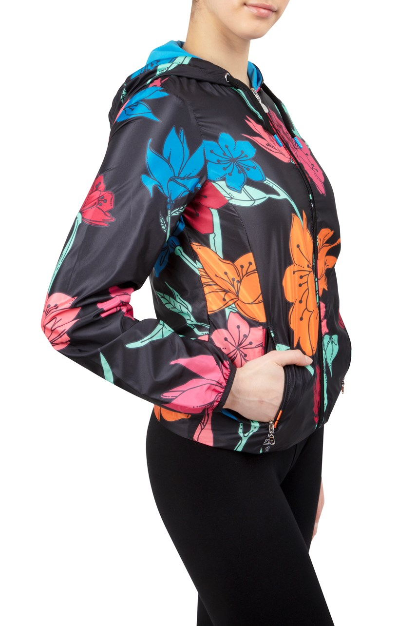 Reversible Floral Windbreaker