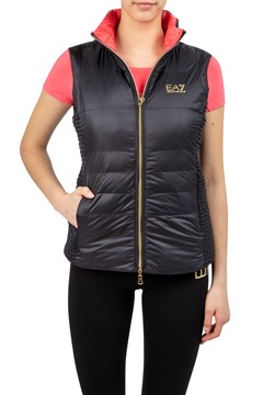 Reversible Quilted Vest BLACK 1