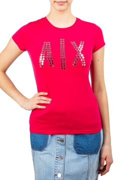 Metallic A|X T-Shirt - love potion