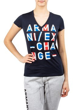 Armani Exchange V-Neck T-Shirt NAVY 1