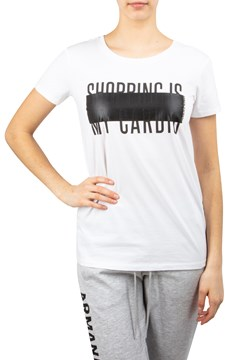 11252e92d45 Shopping Is My Cardio T-Shirt - ARMANI EXCHANGE - Smith   Caughey s ...