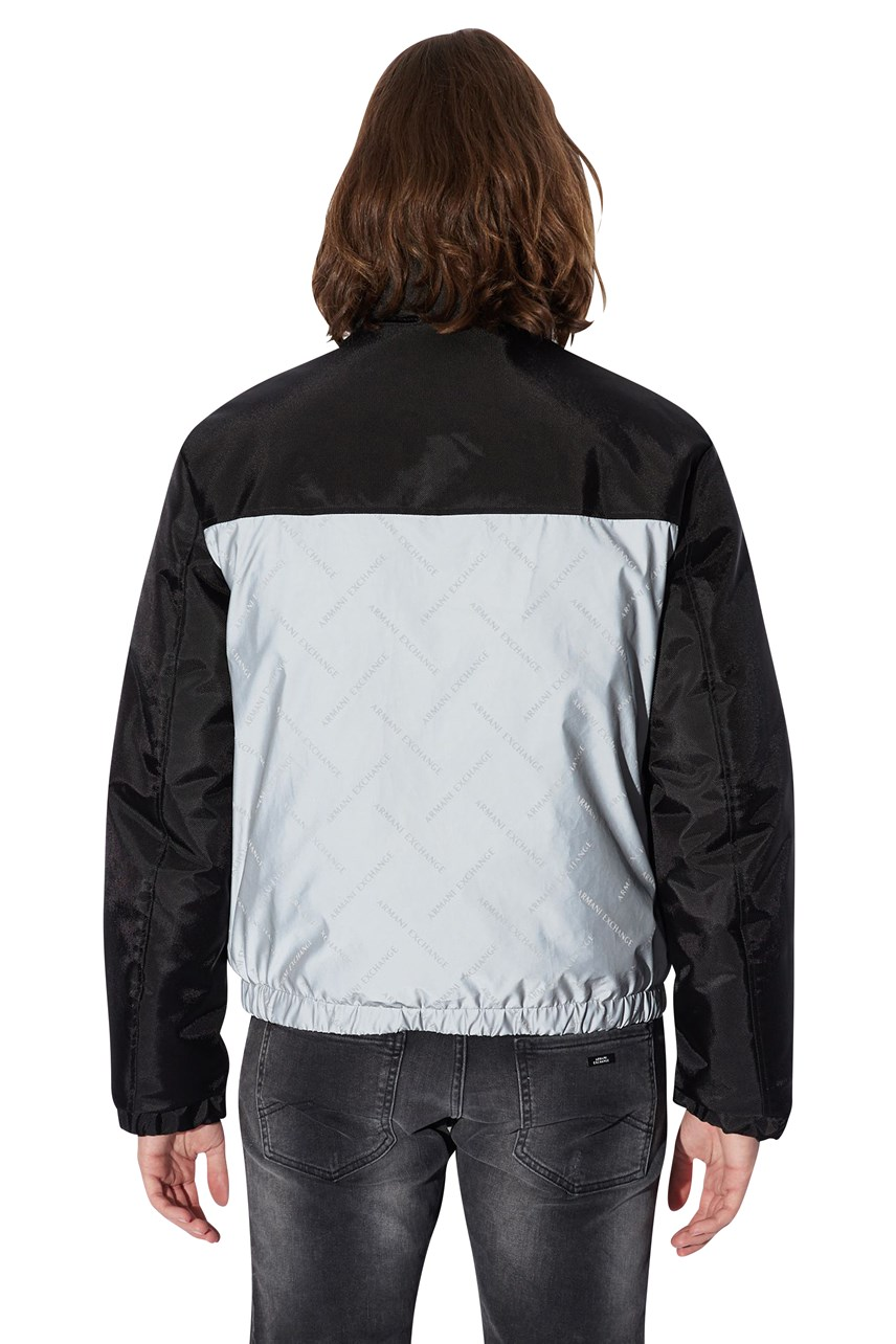 Reflective Padded Jacket with Hood