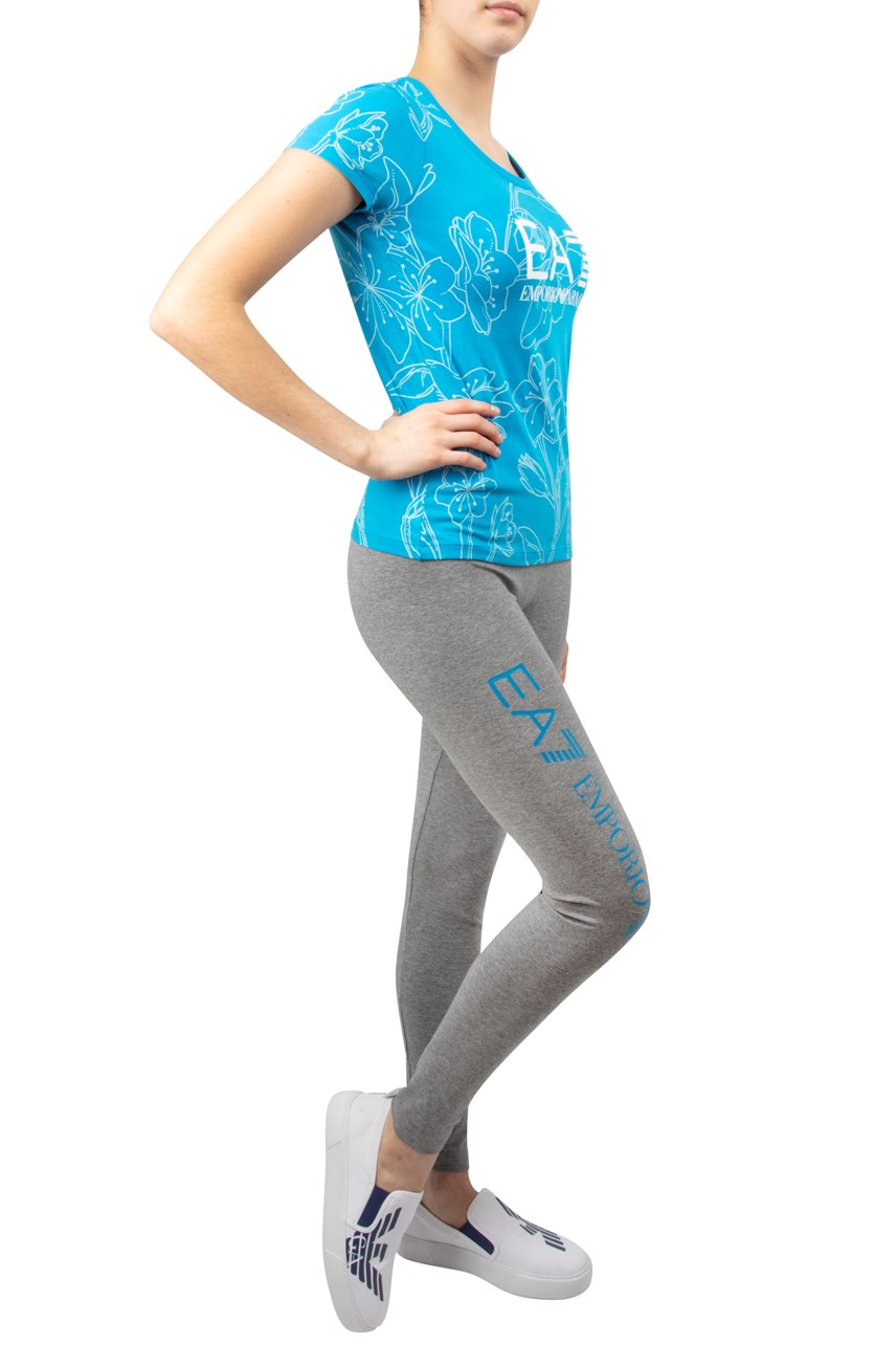 Logo Side Leggings