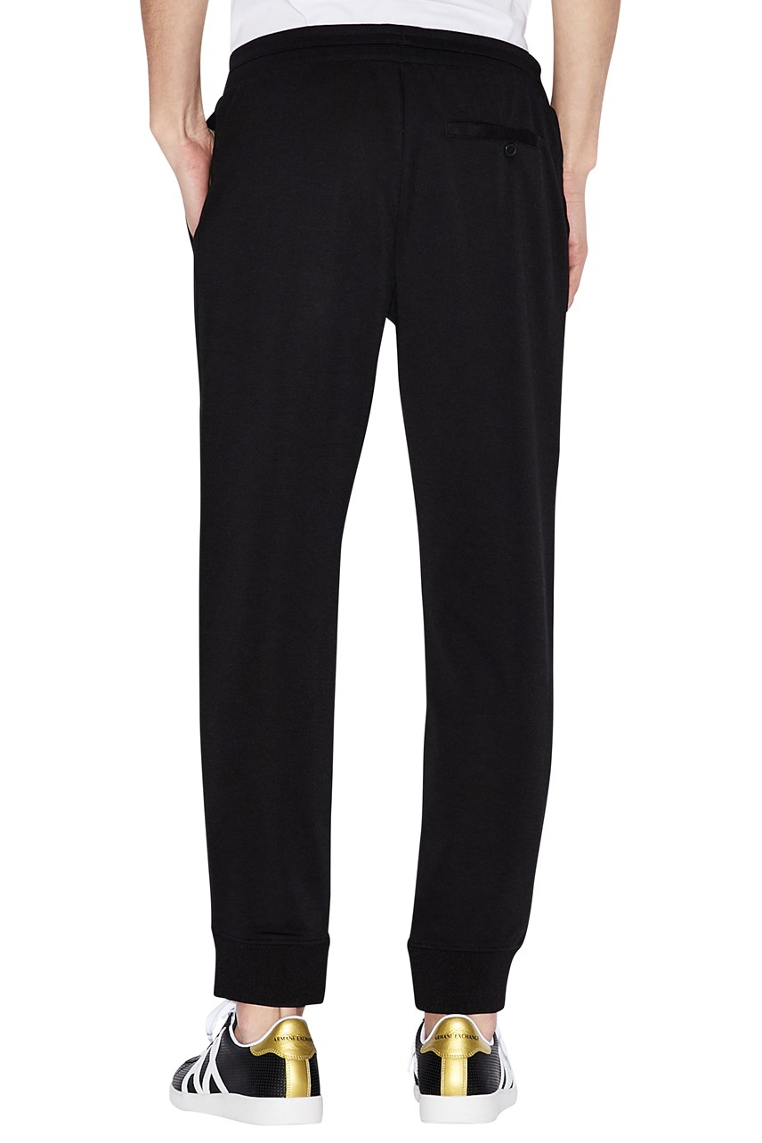 Contrast Detail Sporty Trousers
