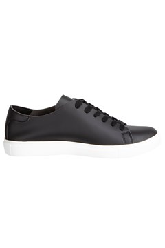 Raw Edge Low-Top Sneaker 00020 NERO 1