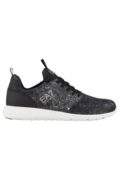Galaxy Lace Up Trainer D643 BLACK 1