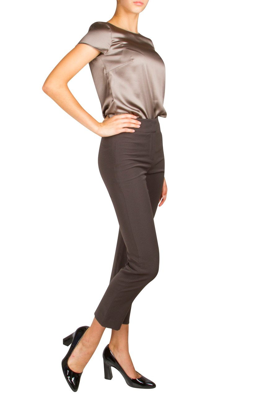Cropped Cigarette Trouser