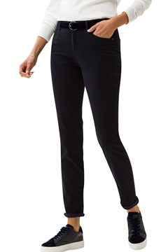 Shakira Slim Fit Trousers 22 NAVY 1