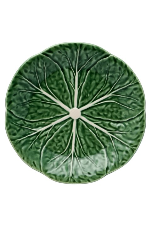 Cabbage Dessert Plate - green