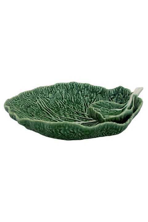 Cabbage Chip Plate - green