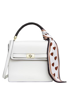 Over You Leather Crossbody Bag WHITE 1