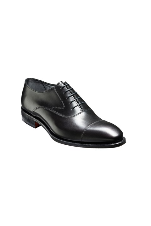 Falsgrave Oxford Shoe - black calf