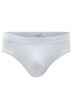 'Jack' Stretch Mid Brief White 1