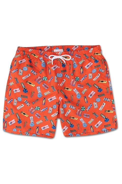 Maui 13 Swim Short - multi