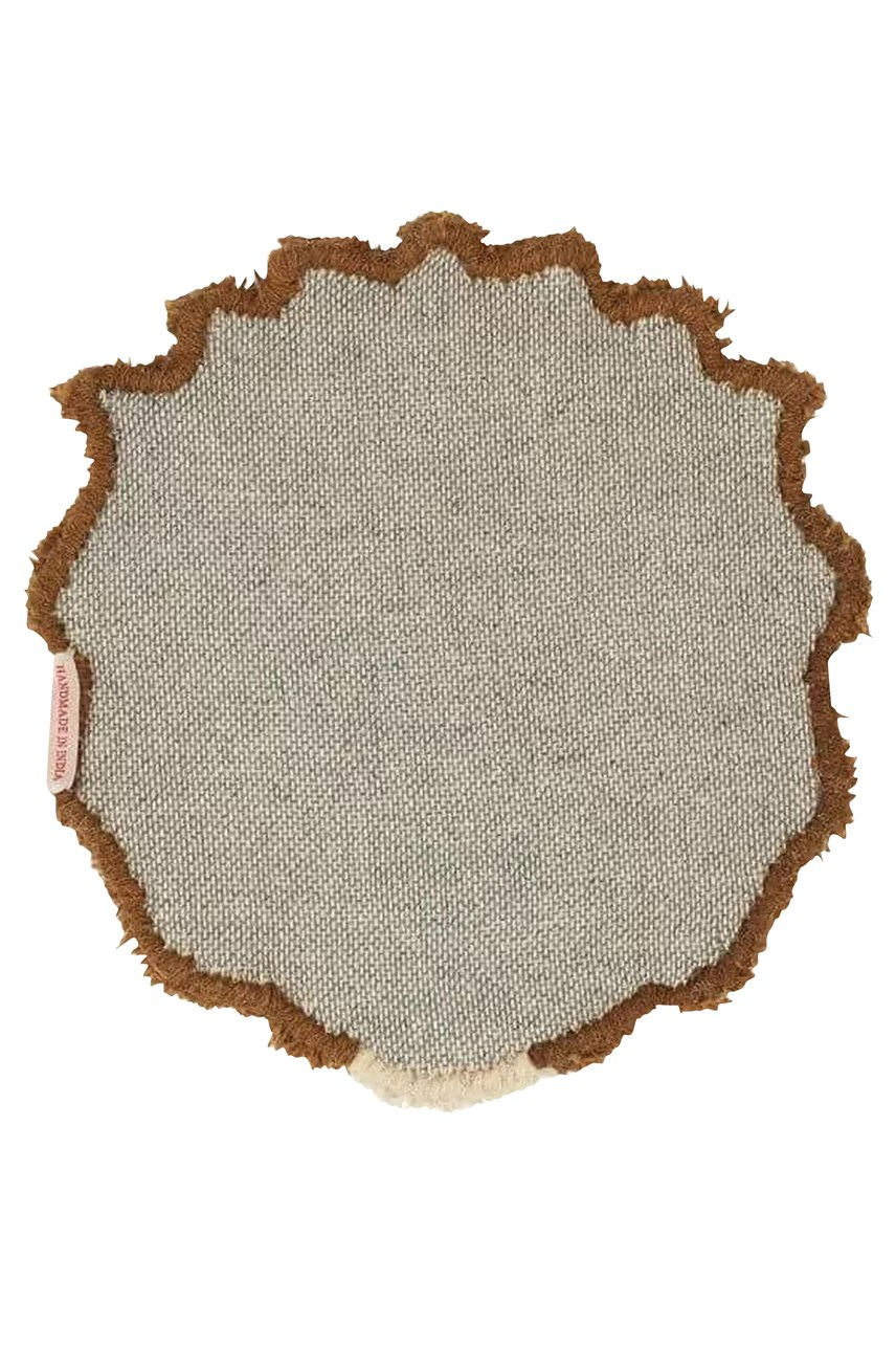 Moody Lion Head Rug
