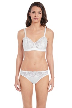 Lace Affair Bralette WHITE 1