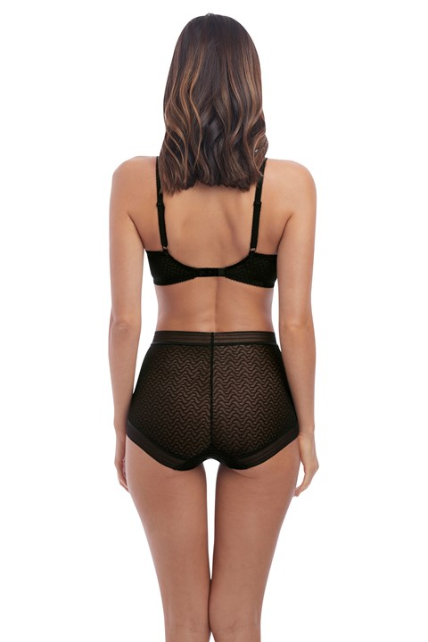 Aphrodite High Waist Brief - black