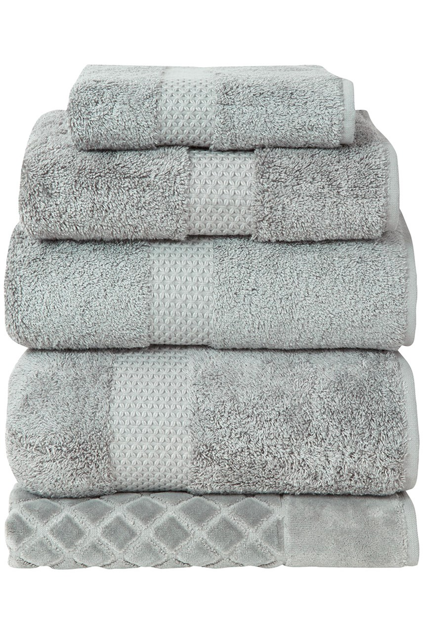 Etoile Towel Collection - Platine Silver