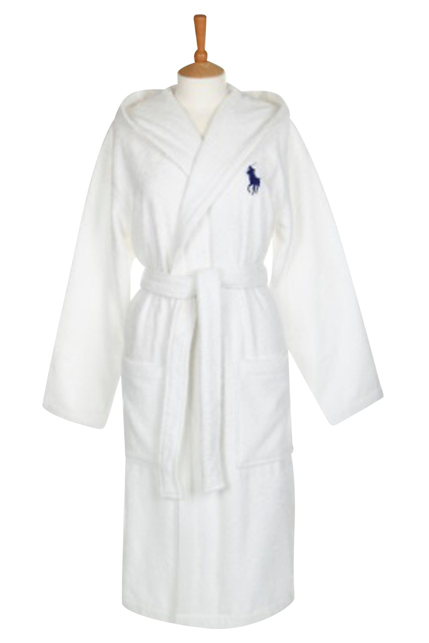 Player Hooded Robe - White