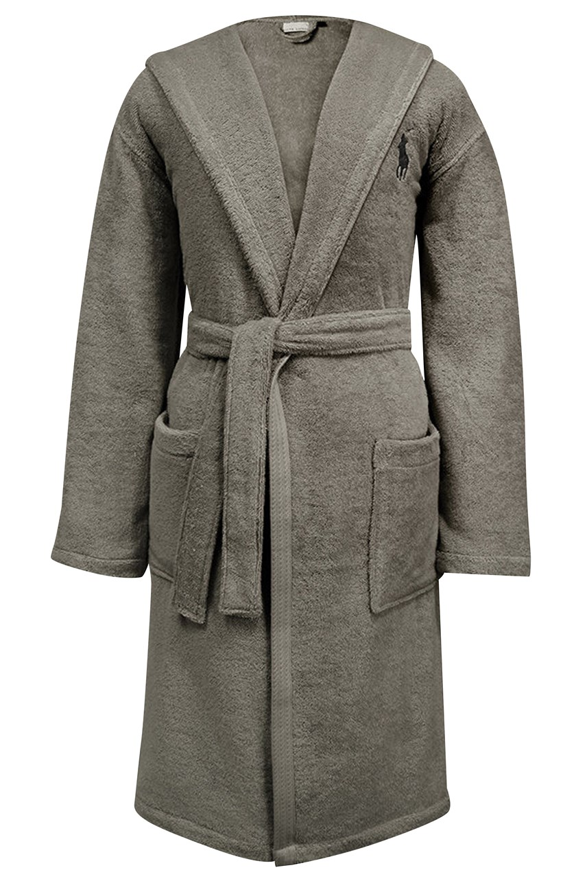 Player Hooded Robe - Pebble