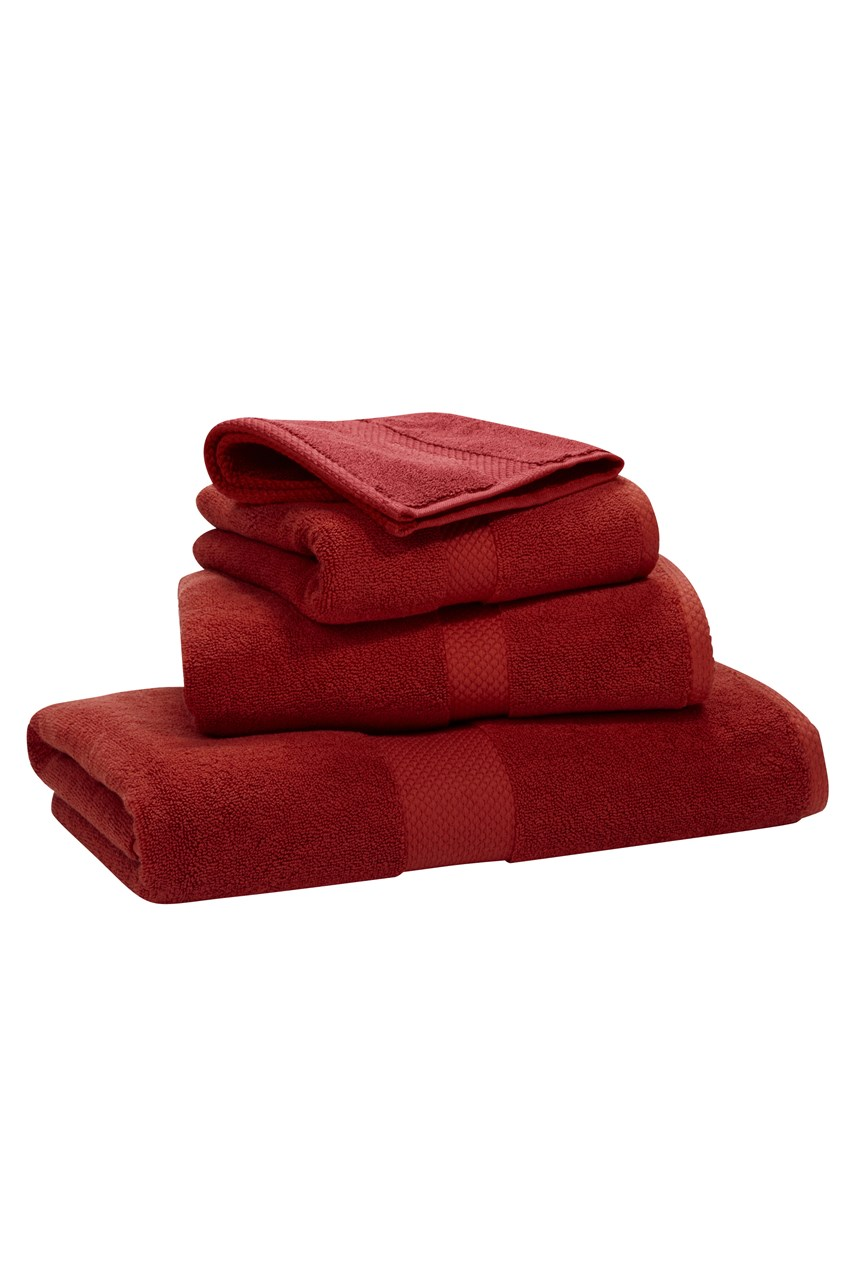 Avenue Towel - Red
