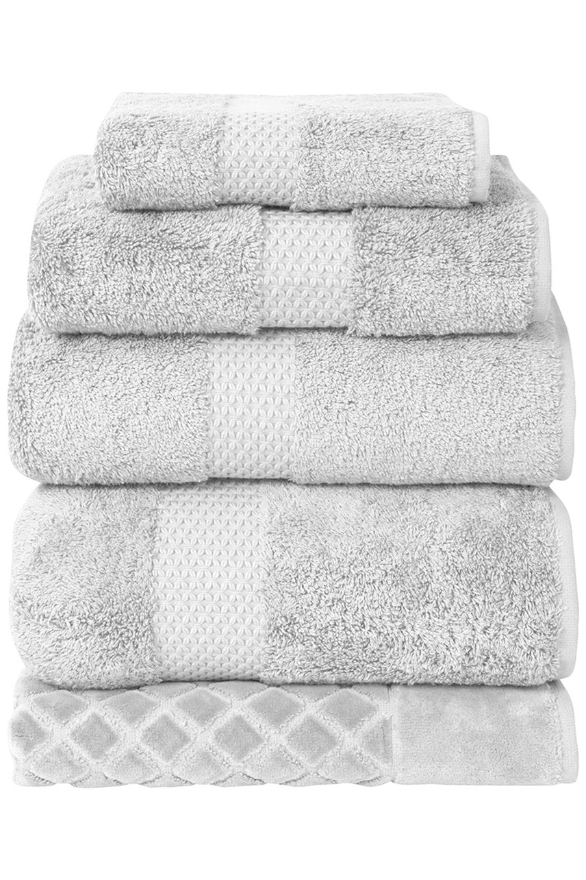 Etoile Towel Collection - Silver
