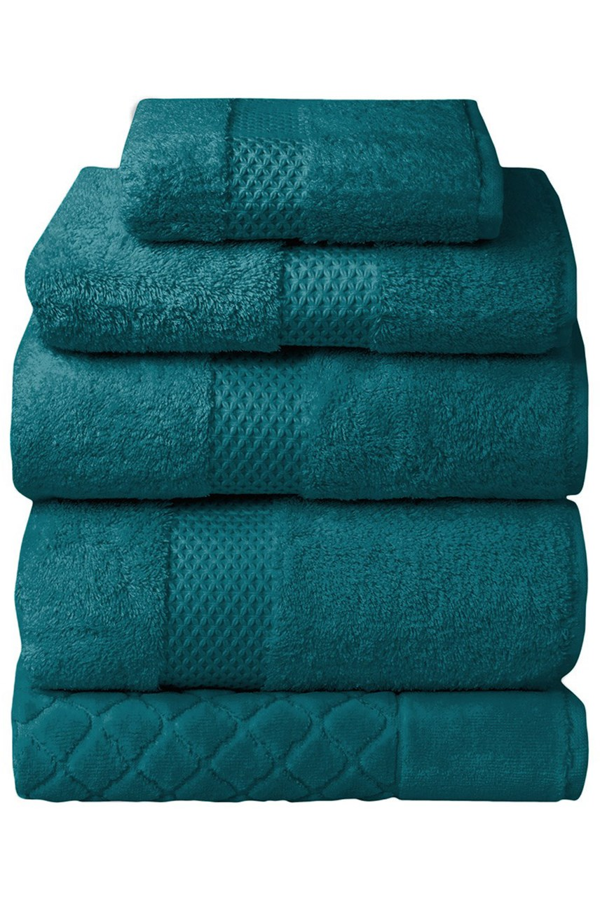 Etoile Towel Collection - Peacock