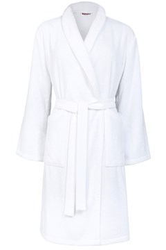 'Iconic' Bathrobe BLANC 1