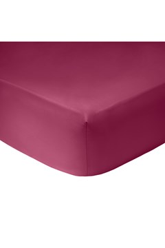 Romance Fitted Sheet CERISE 1