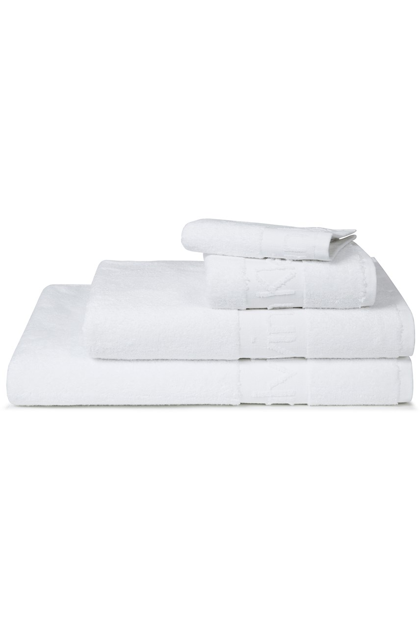 Modern Cotton Towel Collection - White